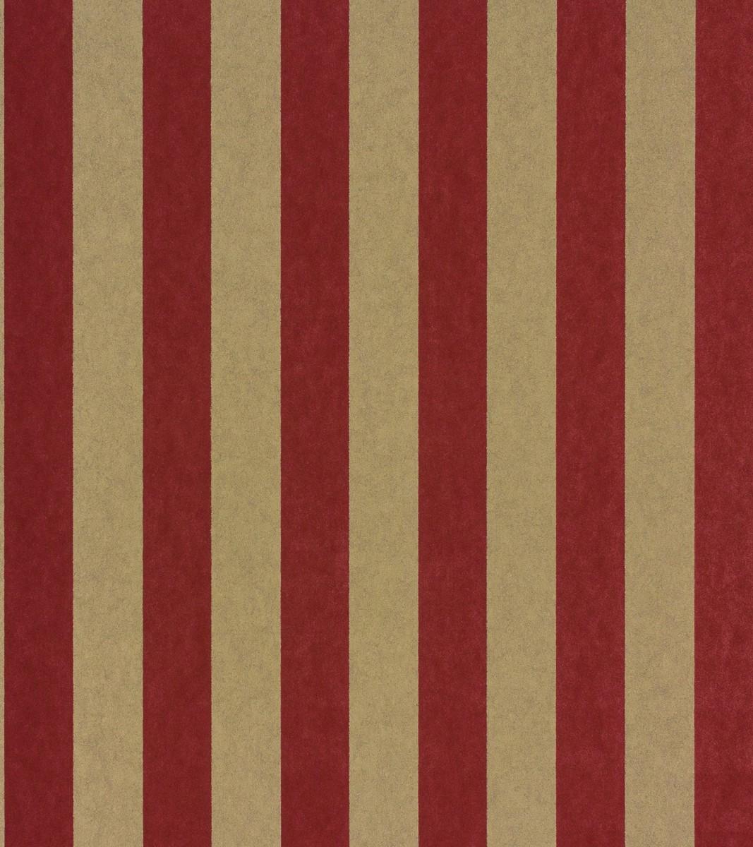 vliestapete rasch textil streifen rot gold 221595. Black Bedroom Furniture Sets. Home Design Ideas