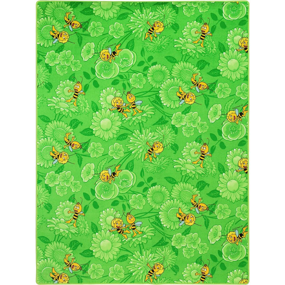 Kinderteppich Biene Maja und Willi Teppich in 3 Farben und