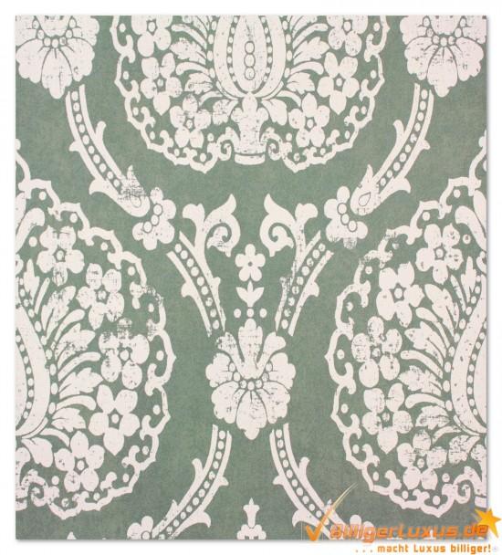 Scandinavian Vintage Tapete Marburg : Vliestapete Scandinavian Vintage Marburg 51654 gr?n