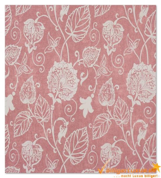 Scandinavian Vintage Tapete Marburg : Vliestapete Scandinavian Vintage Marburg 51622 rosa