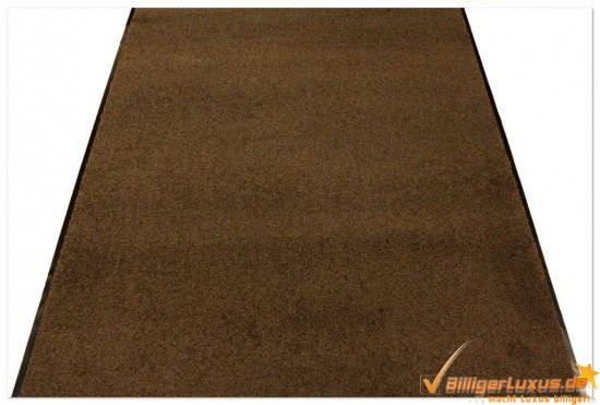 proper tex uni schmutzfangmatte schmutzfangl ufer rot braun schwarz 90 120 cm ebay. Black Bedroom Furniture Sets. Home Design Ideas