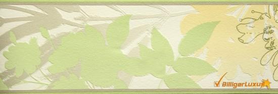 Borte-Borduere-ESPRIT-7-Vliestapete-Blaetter-2659-13-265913-gelb-gruen