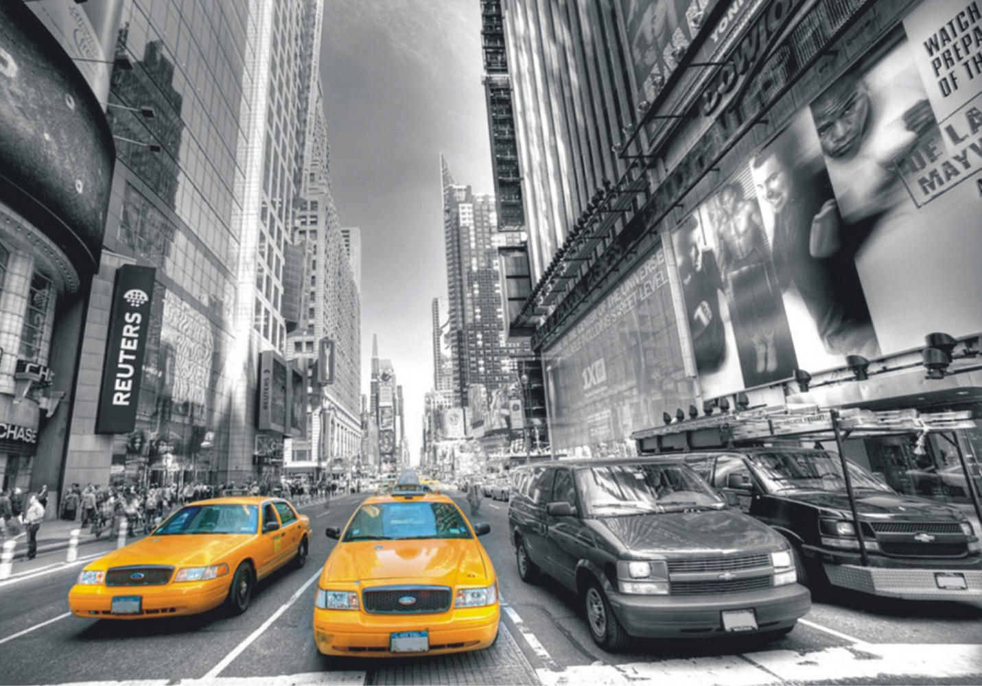 fototapete tapete new york taxi yellow cap manhattan nyc. Black Bedroom Furniture Sets. Home Design Ideas