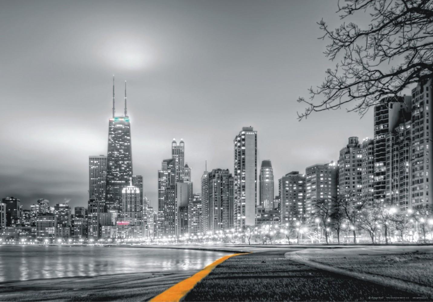 xxl poster fototapete tapete new york skyline nyv foto 160 cm x 115 cm grau ebay. Black Bedroom Furniture Sets. Home Design Ideas