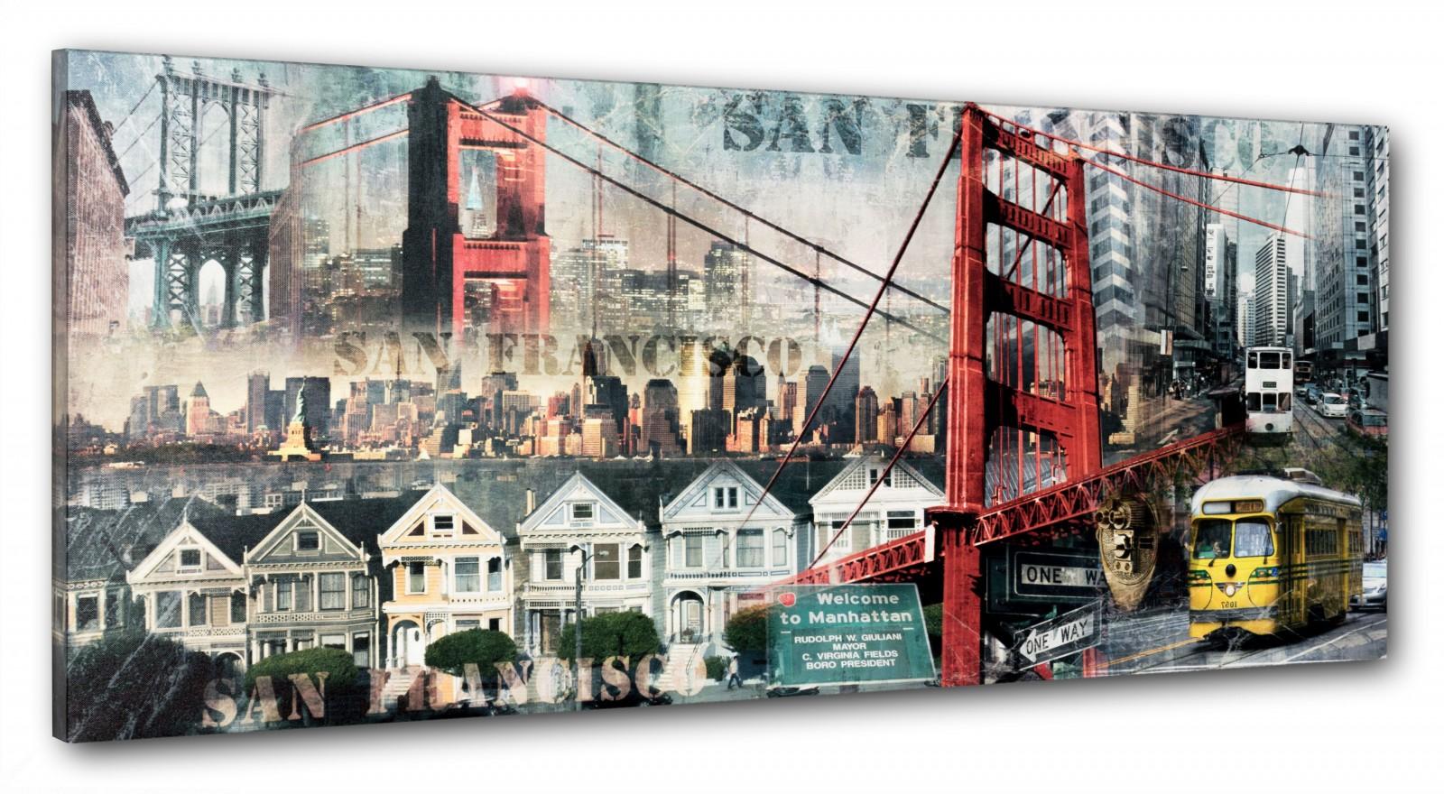 Wandbild Keilrahmen Bild Fotodruck 40x100 cm in 6 unterschiedlichen ...