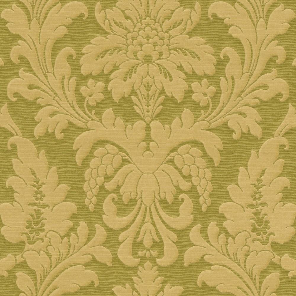 tapeten rasch trianon 513646 vliestapete barock gr n gold. Black Bedroom Furniture Sets. Home Design Ideas