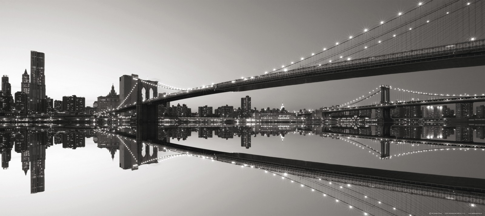 fototapete tapete br cke brooklyn bridge new york nyc. Black Bedroom Furniture Sets. Home Design Ideas
