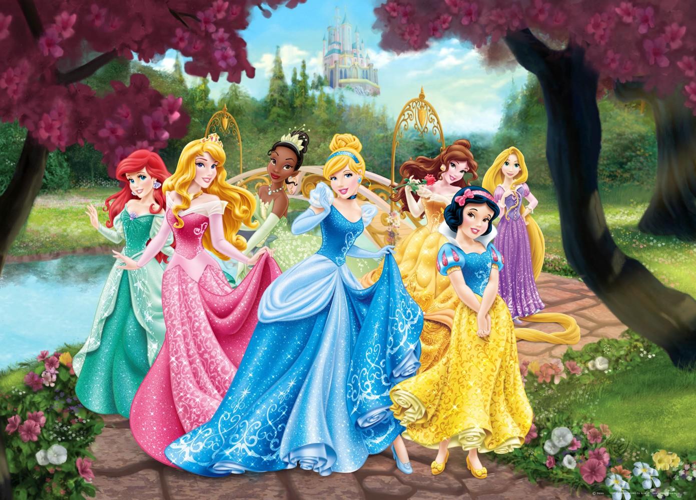 Alle Disney Prinzessinnen