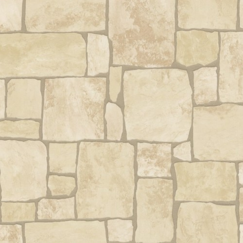 Vinyl Tapeten Steinoptik : Kitchen Stone Wallpaper