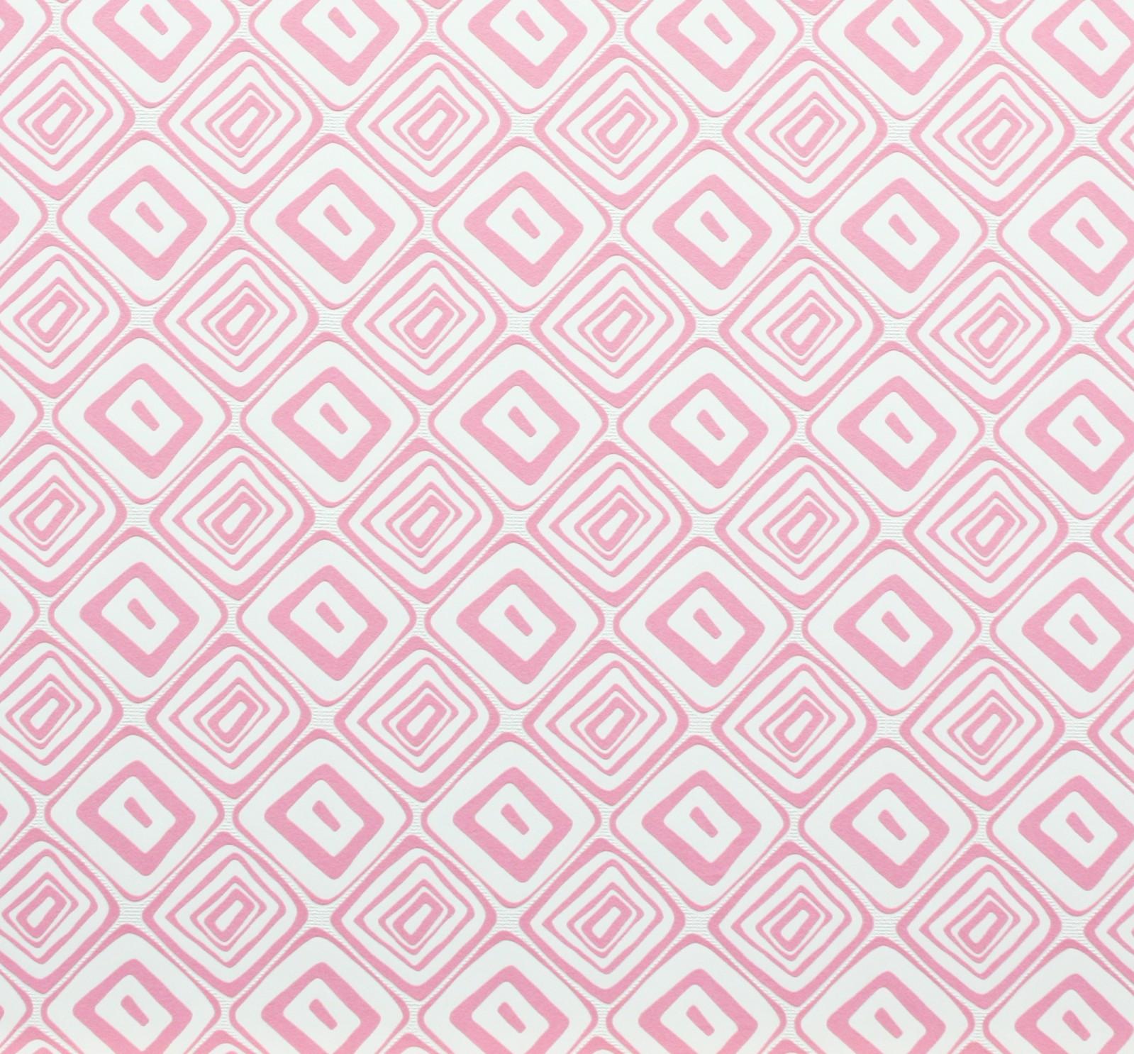 tapete panels marburg 51571 retro wei rosa vliestapete 2. Black Bedroom Furniture Sets. Home Design Ideas
