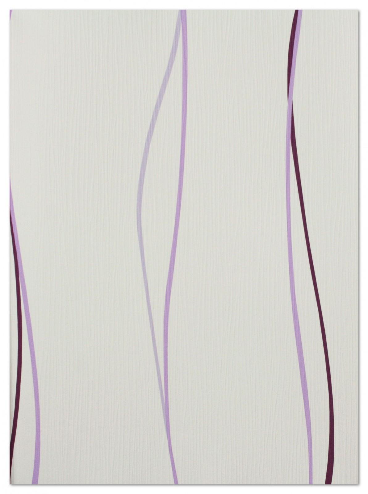 Tapete Springtime 3 Streifen 8769-28 876928 lila weiß