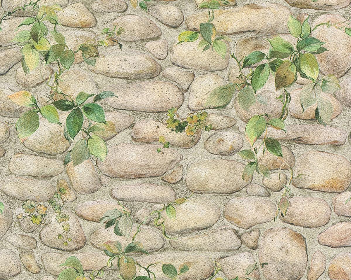 Dekora Natur 5 Stein Tapete Vlies Pictures To Pin On Pinterest