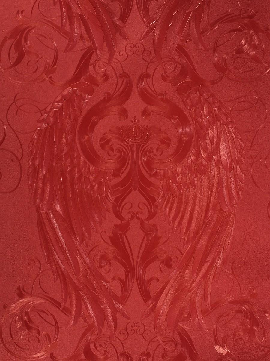 harald gl ckler tapeten rot engel fl gel krone 52592. Black Bedroom Furniture Sets. Home Design Ideas