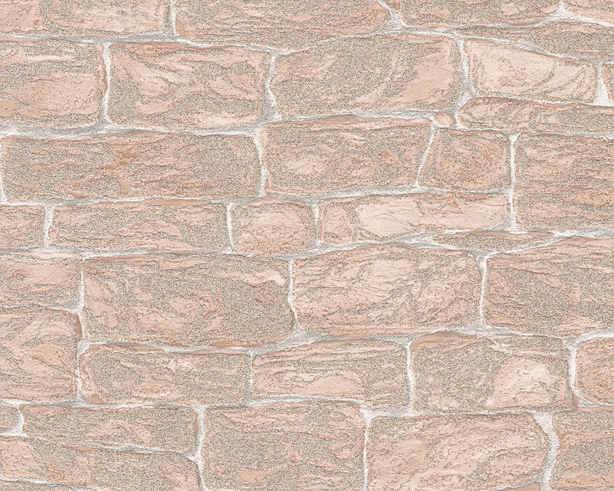 wallpaper stone optics beige glitter wallpaper as creation