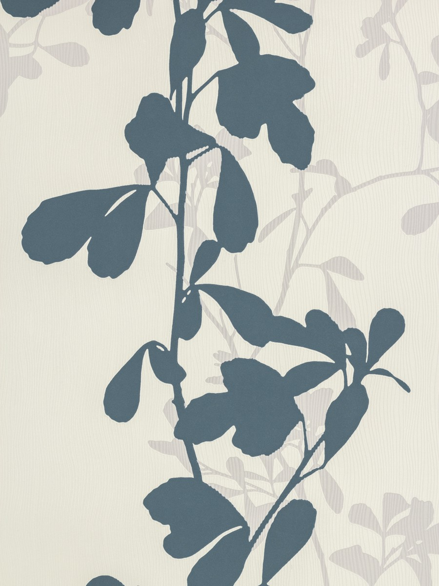 tapete sch ner wohnen 5 bl tter blau grau 9467 37. Black Bedroom Furniture Sets. Home Design Ideas