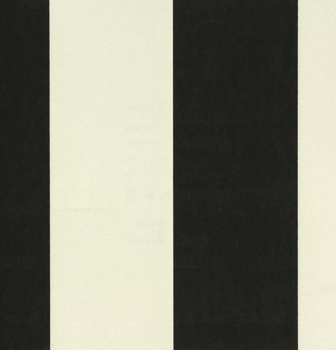 Vliestapete Rasch Textil Streifen schwarz creme 221434