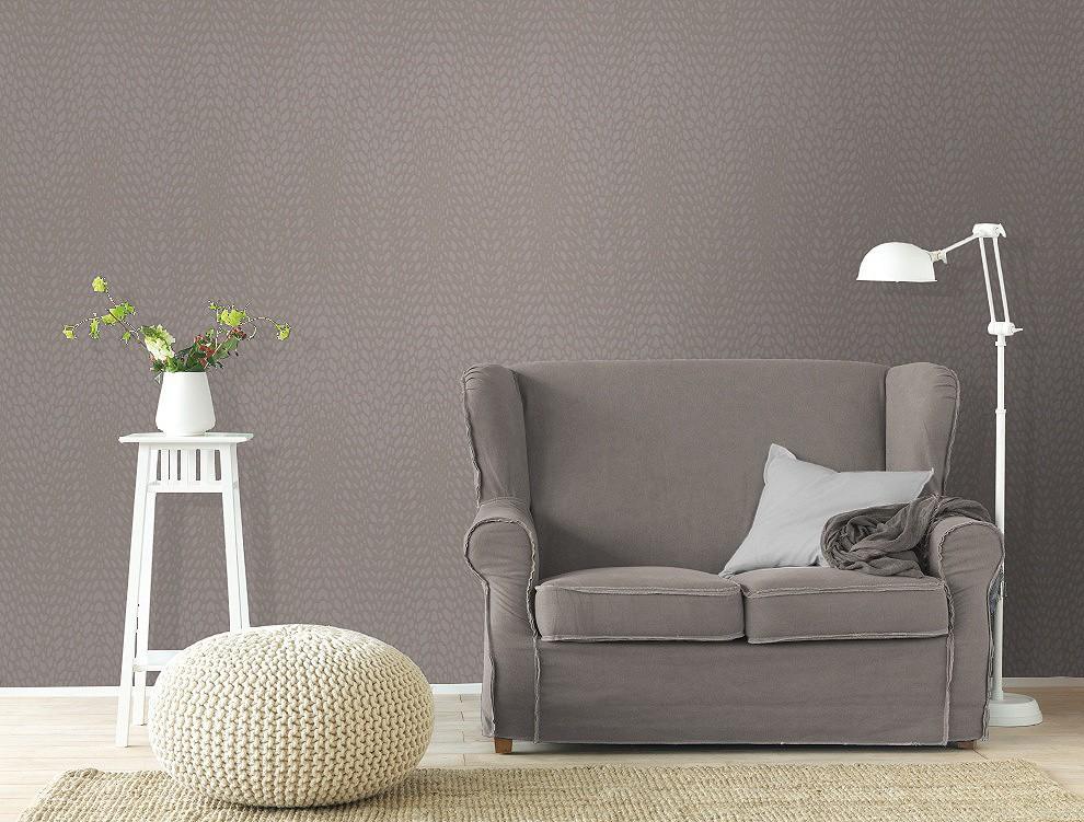 tapete rasch funky flair 721829 uni muster grau. Black Bedroom Furniture Sets. Home Design Ideas