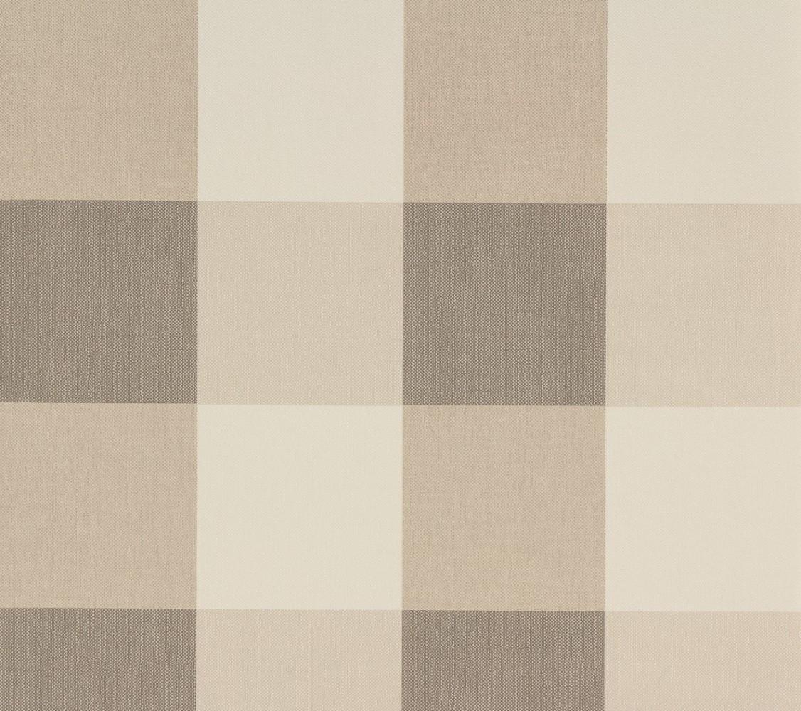 vliestapete kariert beige creme as creation 2063 36. Black Bedroom Furniture Sets. Home Design Ideas