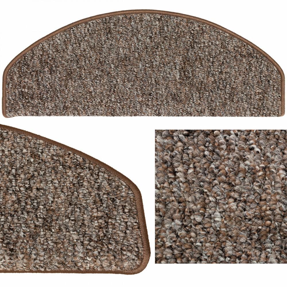 stufenmatte grobschlinge treppenschoner schlinge treppenstufe roma braun grau. Black Bedroom Furniture Sets. Home Design Ideas