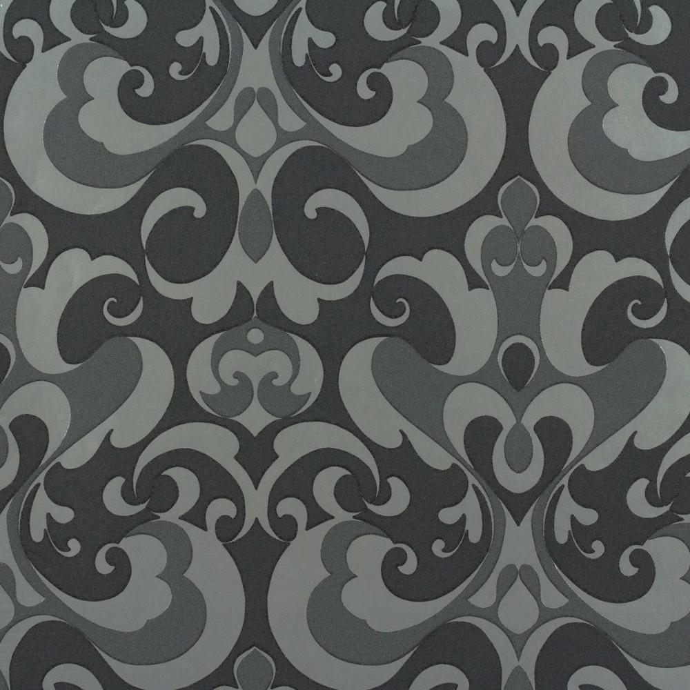 tapete rasch ornamente 507423 schwarz silber. Black Bedroom Furniture Sets. Home Design Ideas