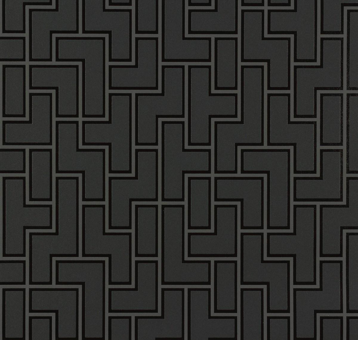 tapete michalsky metropolis grafisch schwarz 93937 1. Black Bedroom Furniture Sets. Home Design Ideas
