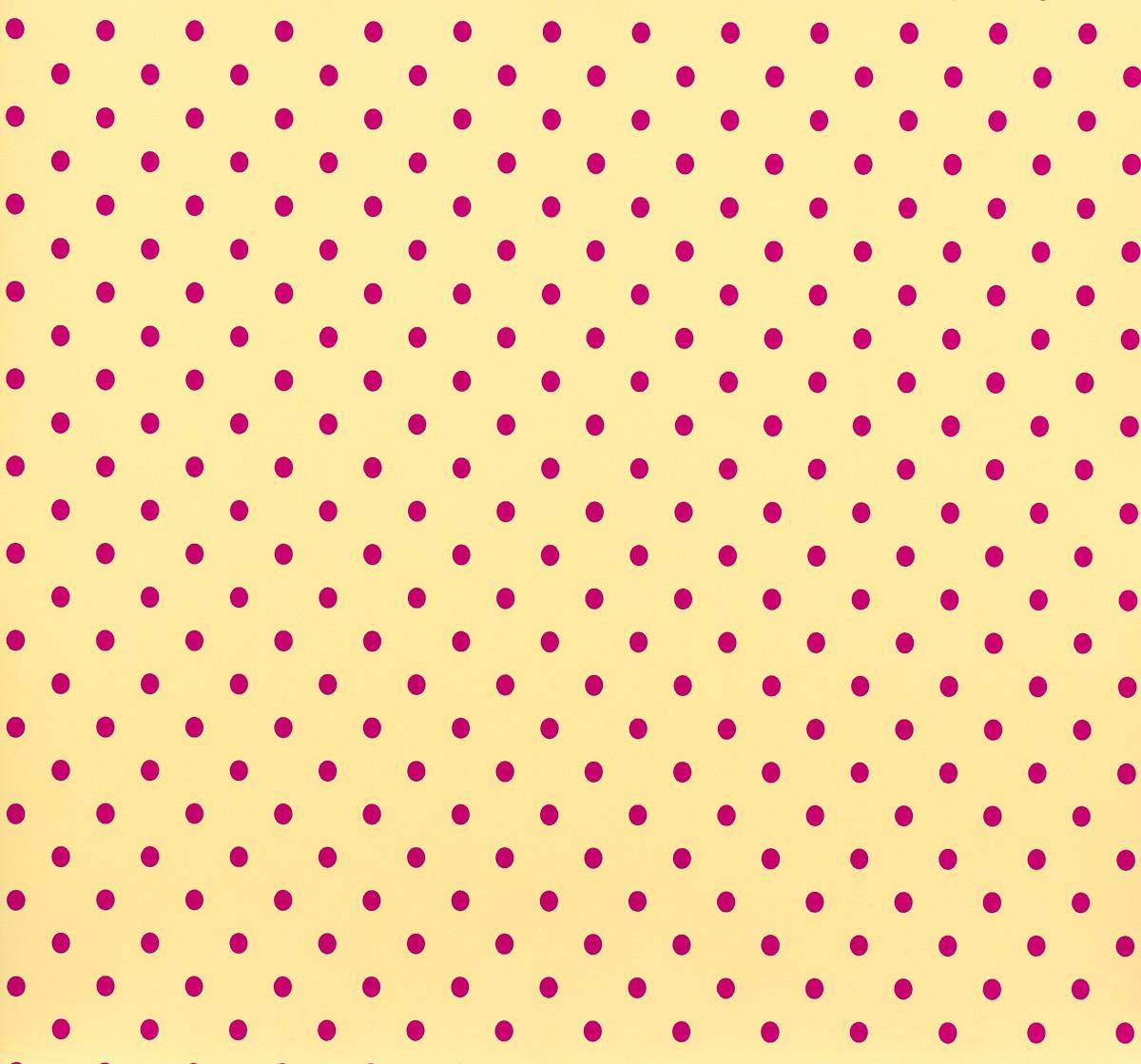 gl ckler kindertapete vlies childrens paradise 54133 punkte gelb pink 3 10 1q ebay. Black Bedroom Furniture Sets. Home Design Ideas