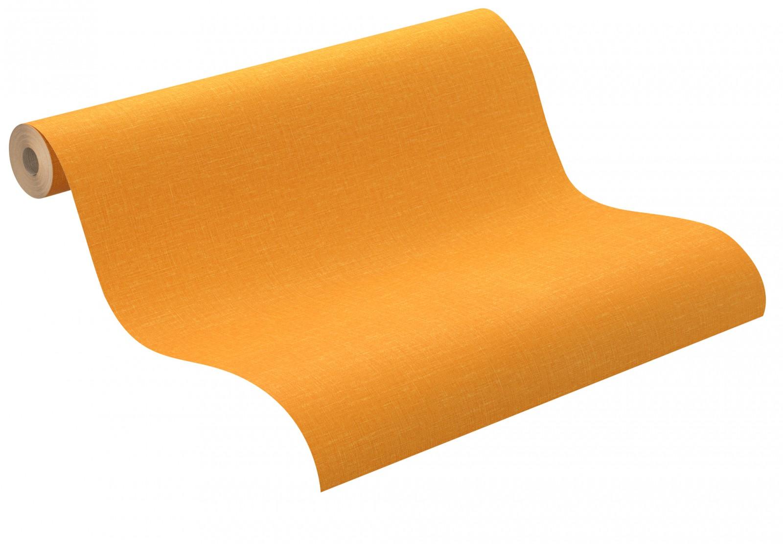 oeko tapete rasch sensual 399110 uni orange gelb. Black Bedroom Furniture Sets. Home Design Ideas
