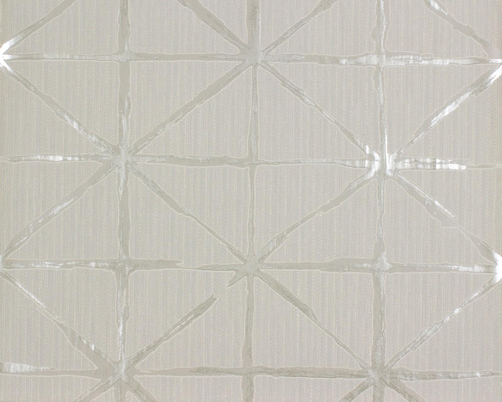Tapete rasch grafik beige silber home vision 862713 for Tapete silber