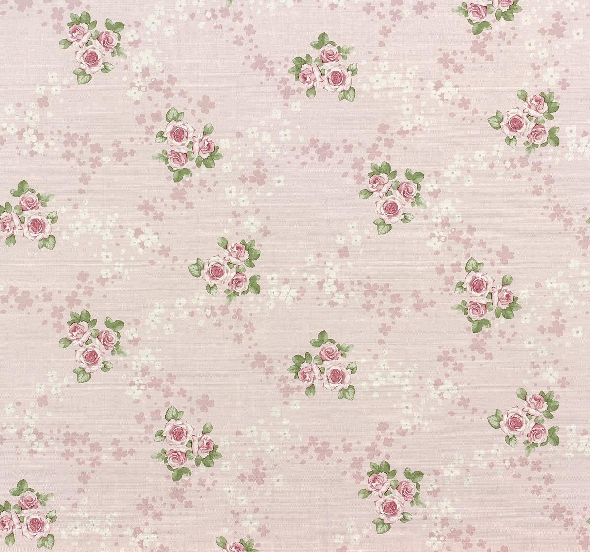 rasch tapete lazy sunday 450923 blumen rosa gruen. Black Bedroom Furniture Sets. Home Design Ideas