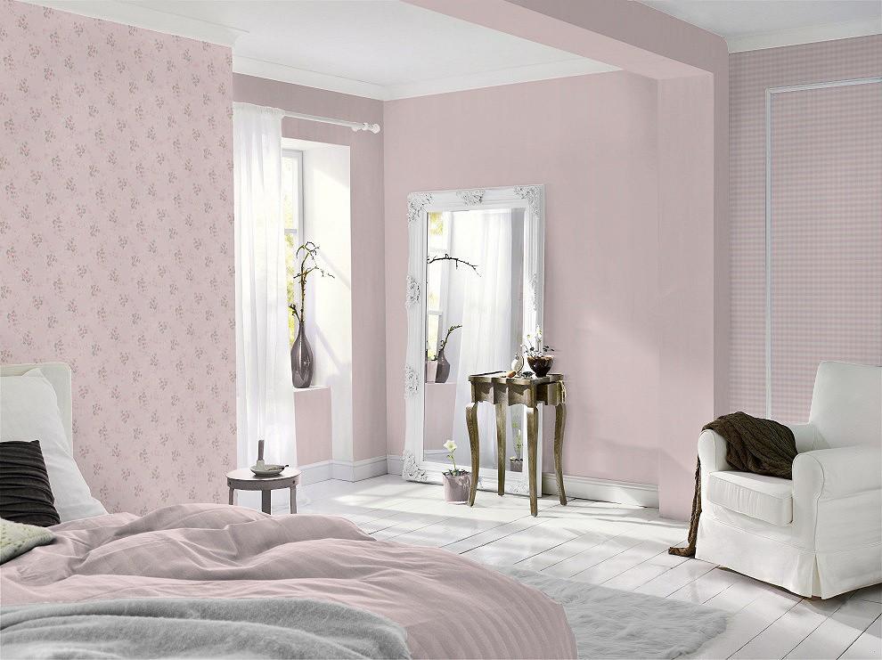 rasch tapete lazy sunday 451726 kariert rosa weiss. Black Bedroom Furniture Sets. Home Design Ideas