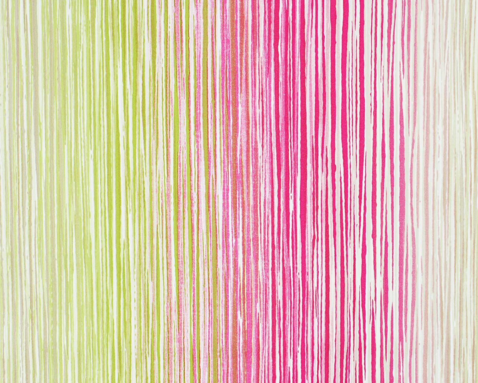 vliestapete esprit home streifen gr n pink 94147 1. Black Bedroom Furniture Sets. Home Design Ideas