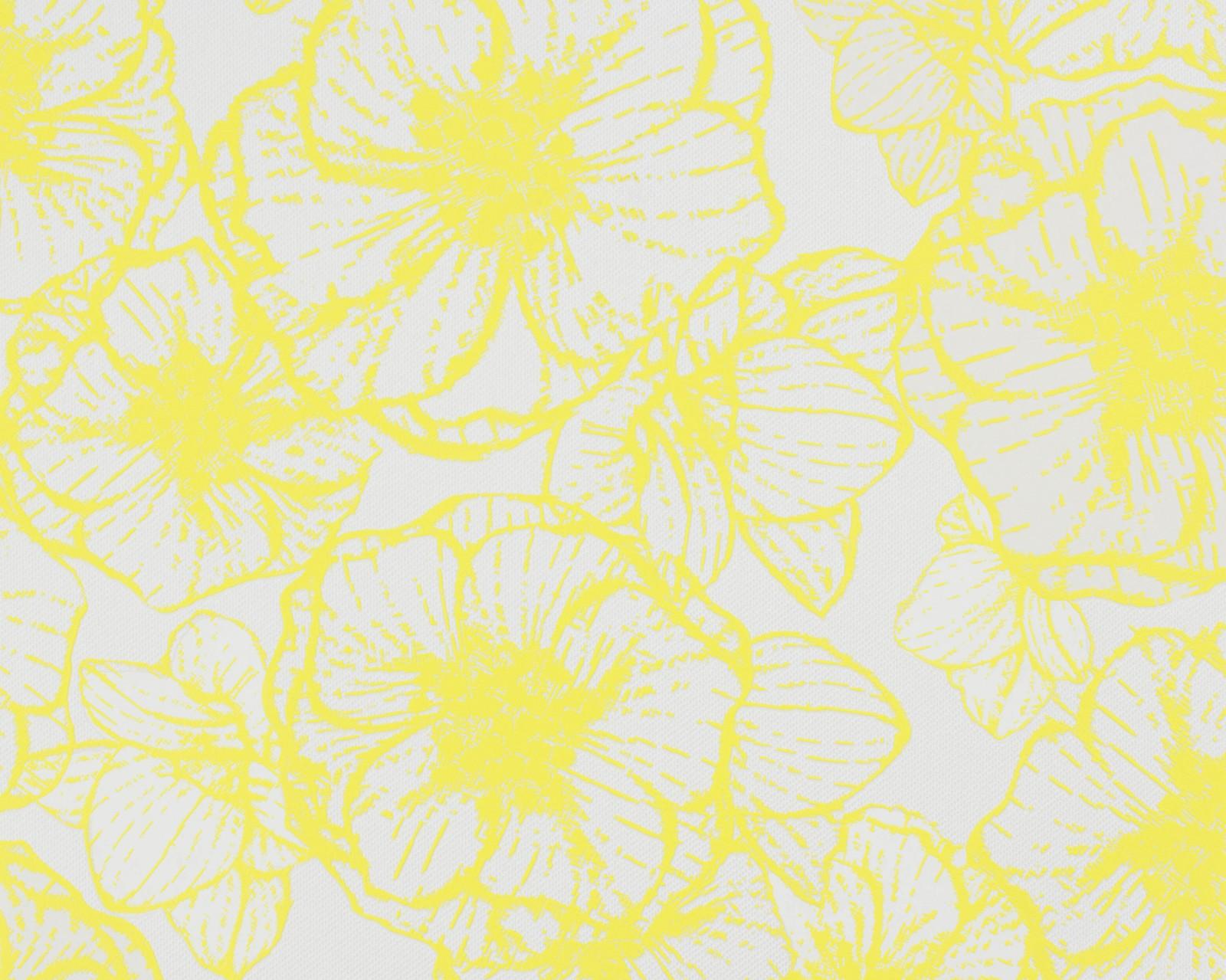vliestapete esprit home floral gelb 94099 3. Black Bedroom Furniture Sets. Home Design Ideas