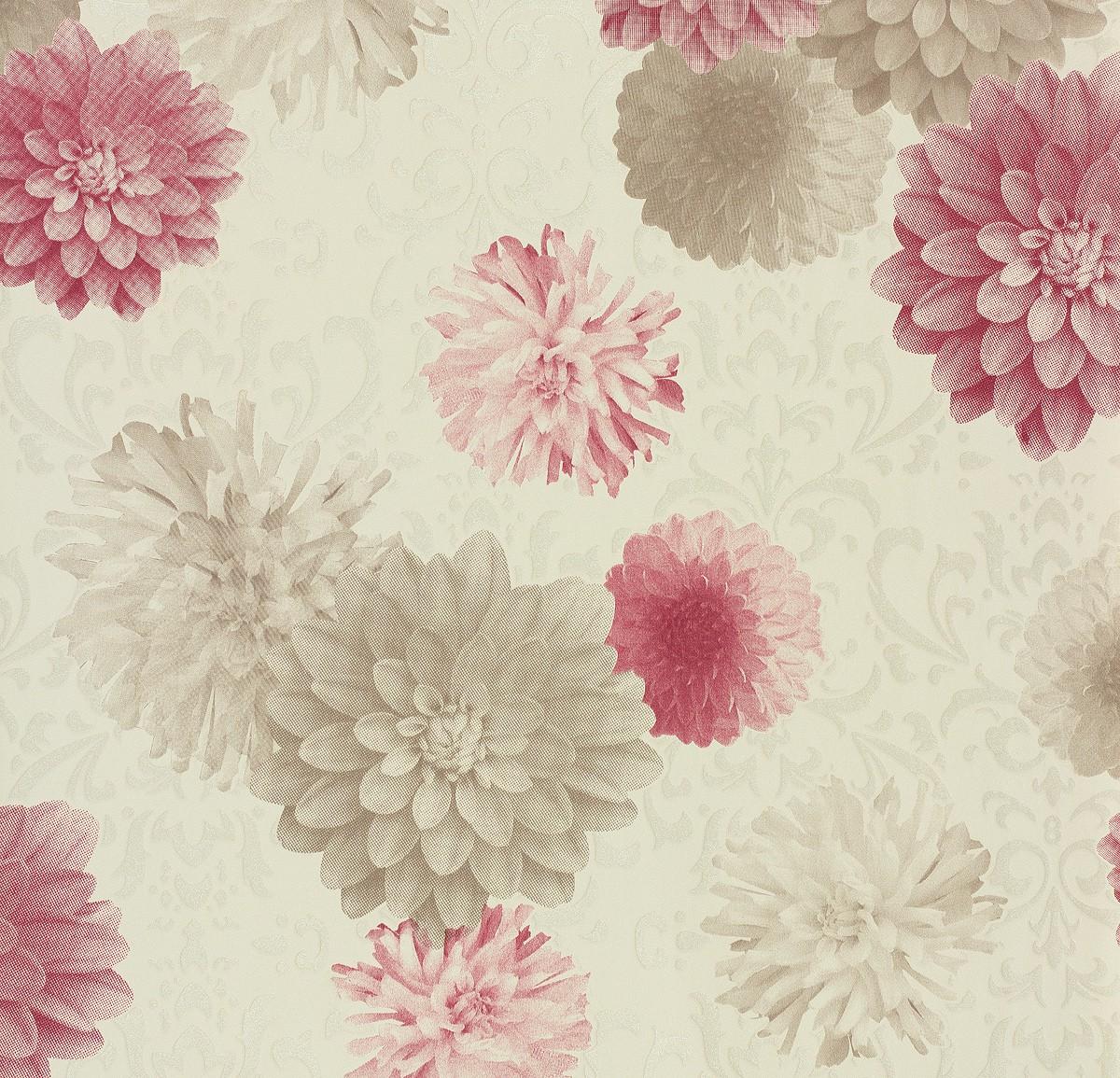 vliestapete naf naf a s cr ation tapete 95219 2 952192 floral wei beige rosa 2 ebay. Black Bedroom Furniture Sets. Home Design Ideas