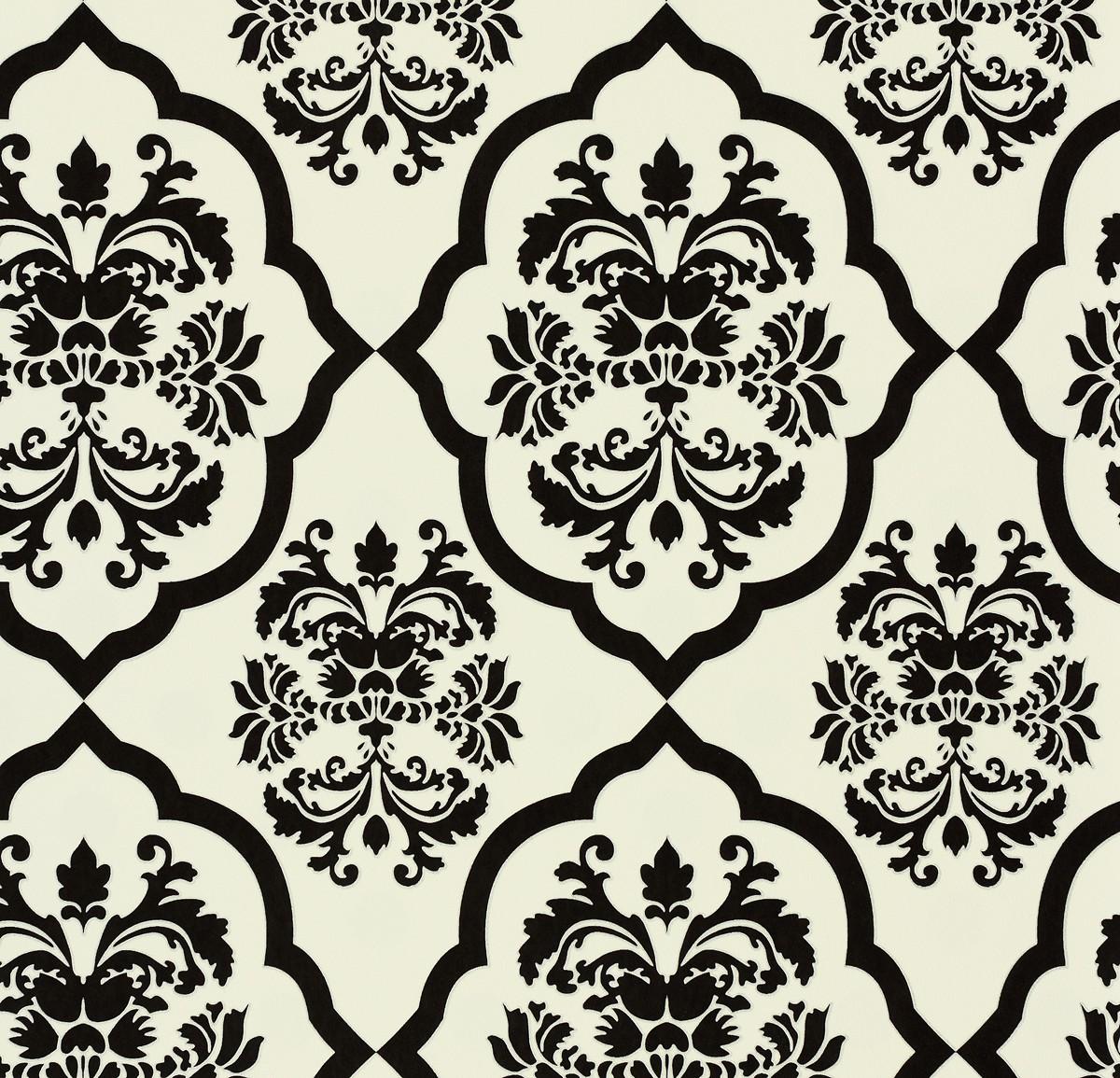 vliestapete naf naf a s cr ation tapete 95224 1 952241 barock wei schwarz 2 88 ebay. Black Bedroom Furniture Sets. Home Design Ideas