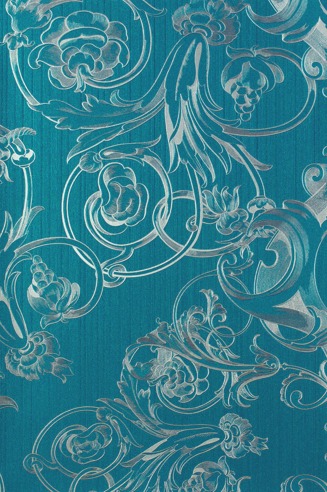 Vliestapete lila blau haus design und m bel ideen - Babyzimmer barock ...