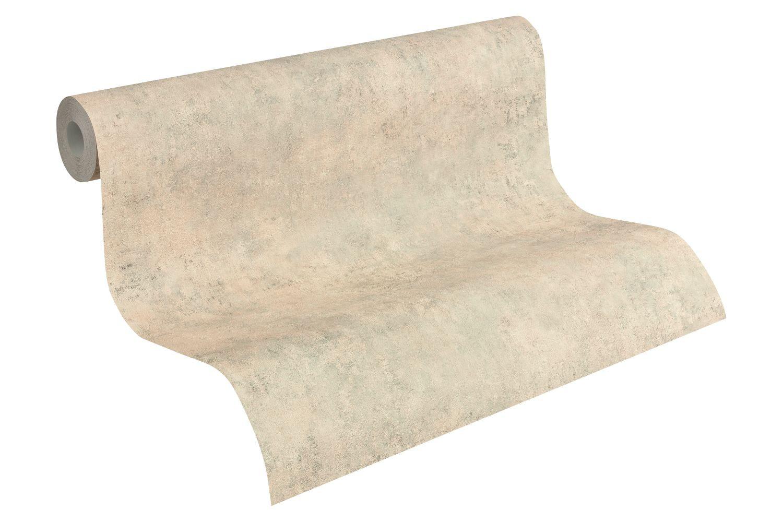 Tapete as creation stein struktur braun 95406 2 - Grau beige tapete ...