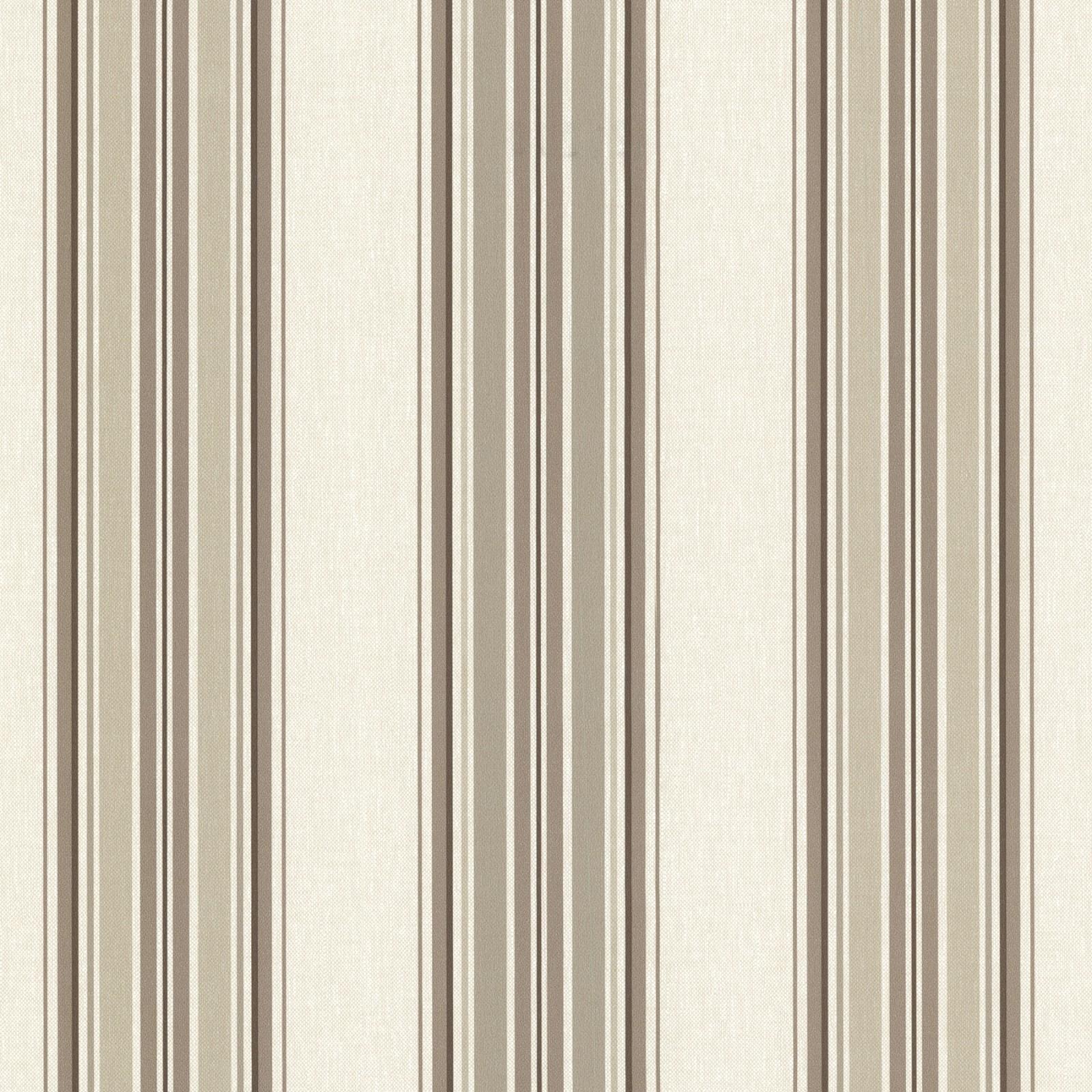 Vliestapete streifen beige braun tapeten rasch textil for Herrlich tapeten braun beige muster