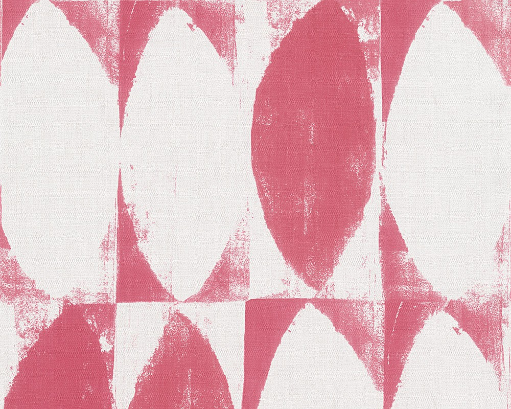 tapete esprit home rot wei grafisch 958032. Black Bedroom Furniture Sets. Home Design Ideas