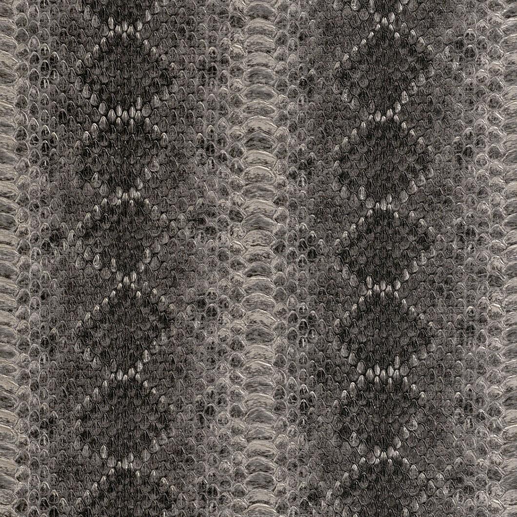 vliestapete silber schwarz leder rasch 473803. Black Bedroom Furniture Sets. Home Design Ideas