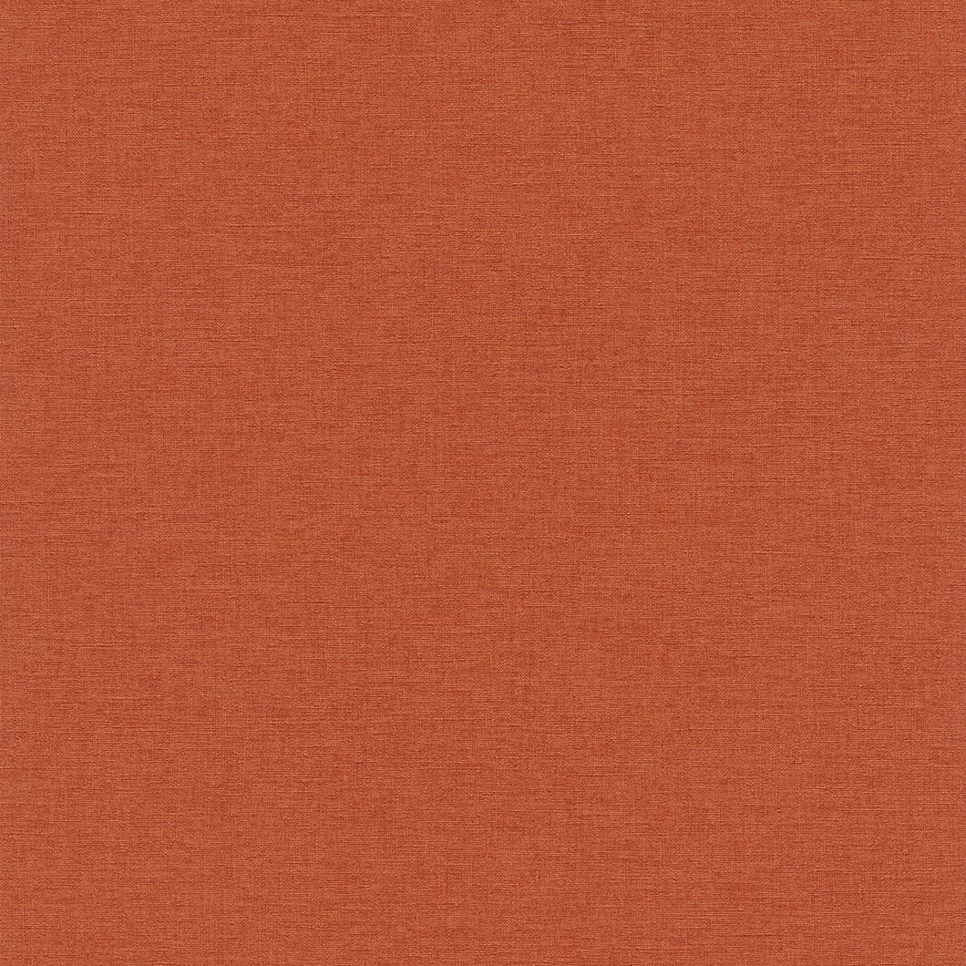 Tapete rasch florentine uni orange 448573 for Tapete orange