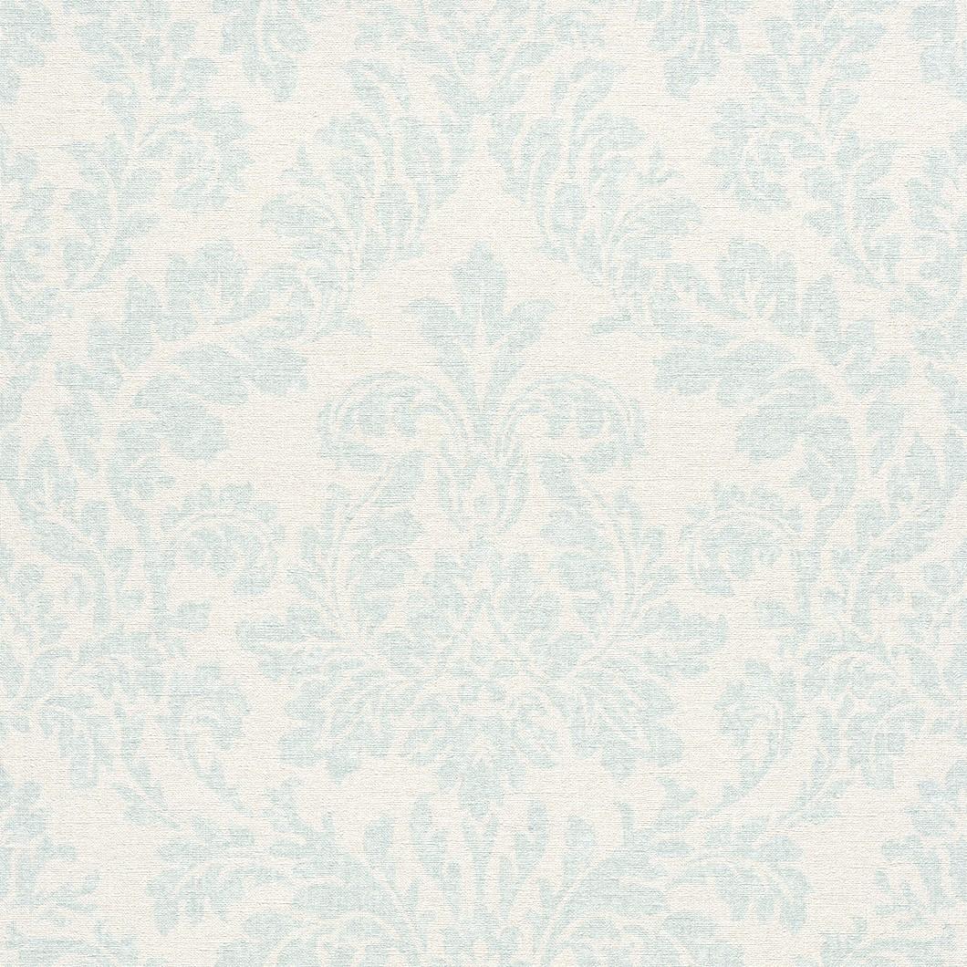 tapete rasch florentine barock creme t rkis 449075. Black Bedroom Furniture Sets. Home Design Ideas