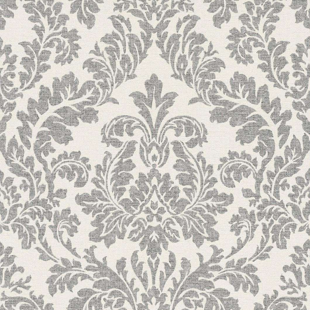 tapete rasch florentine barock creme schwarz 449099. Black Bedroom Furniture Sets. Home Design Ideas