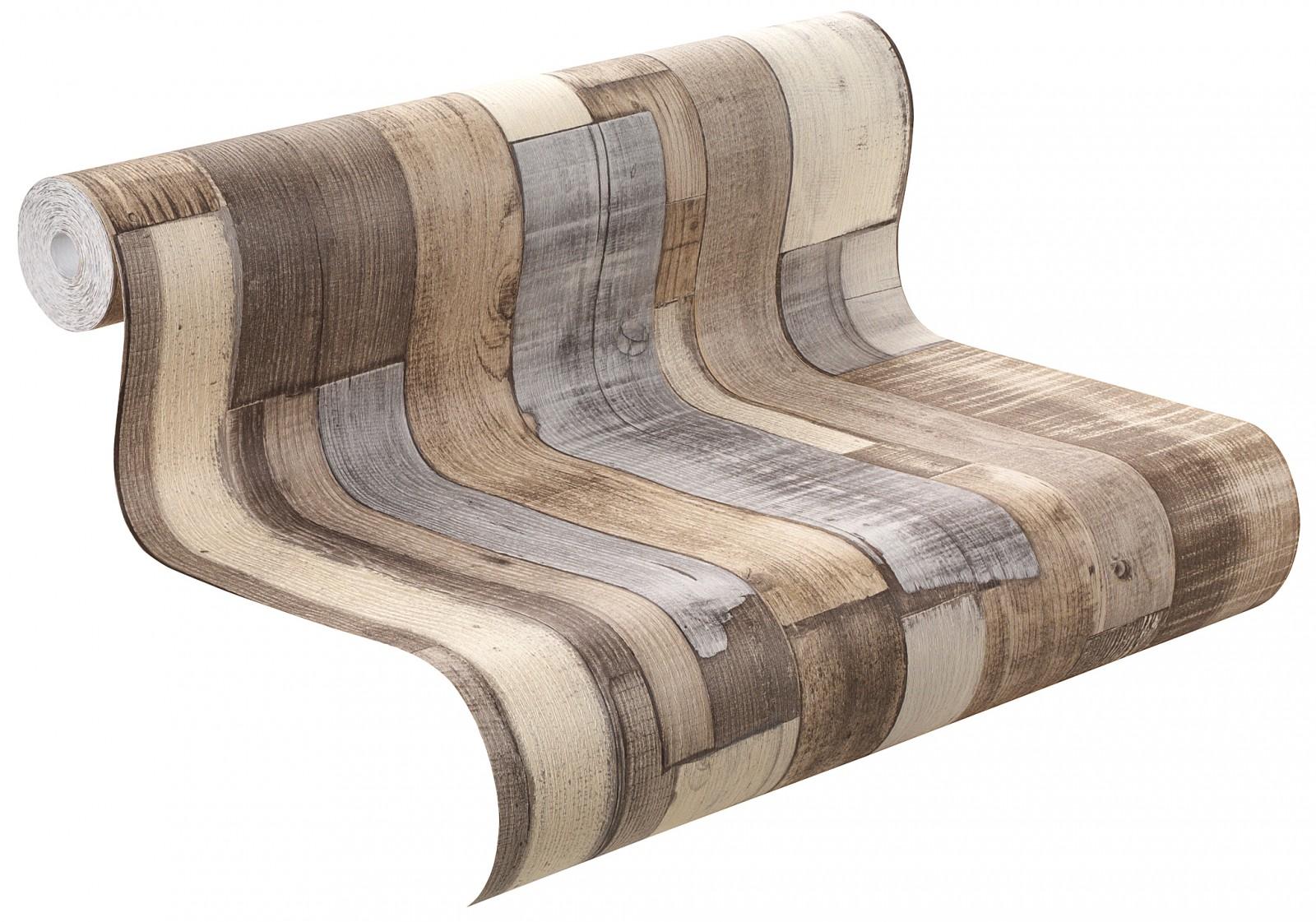 vliestapete holz grau braun factory rasch 446753. Black Bedroom Furniture Sets. Home Design Ideas