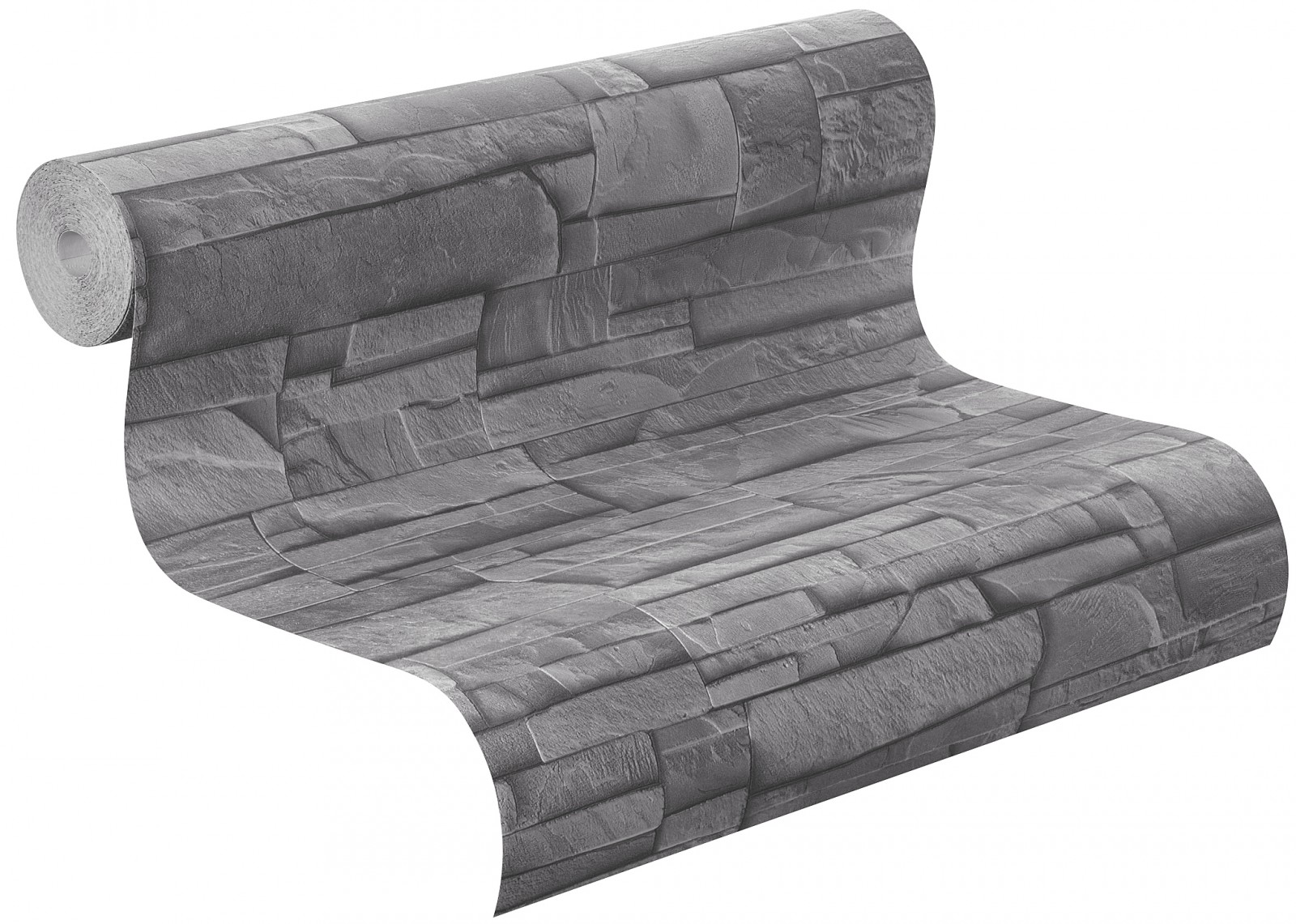 vliestapete stein grau schwarz factory rasch 475029. Black Bedroom Furniture Sets. Home Design Ideas