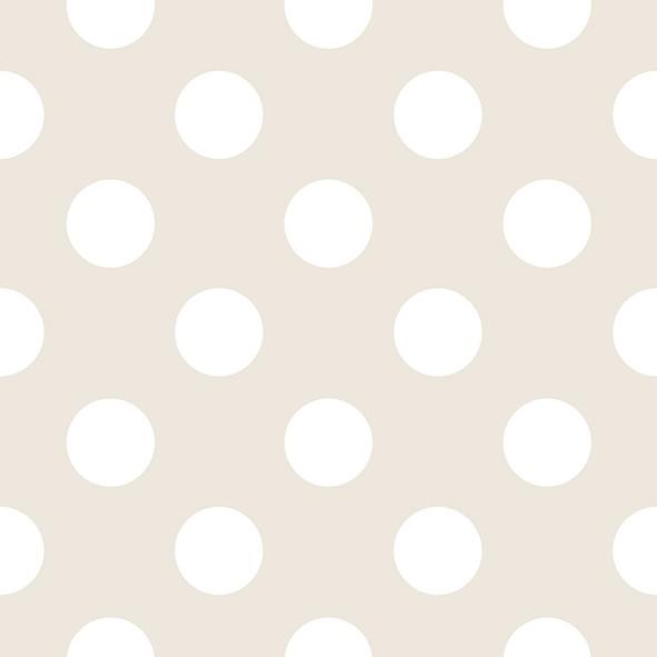 Tapete punkte beige wei rasch textil 3006 4 for Tapete punkte