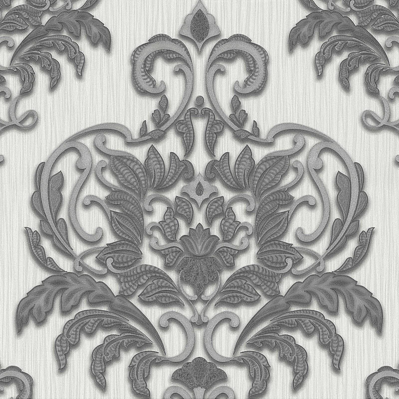vliestapete schwarz barock dieter bohlen 02437 50. Black Bedroom Furniture Sets. Home Design Ideas
