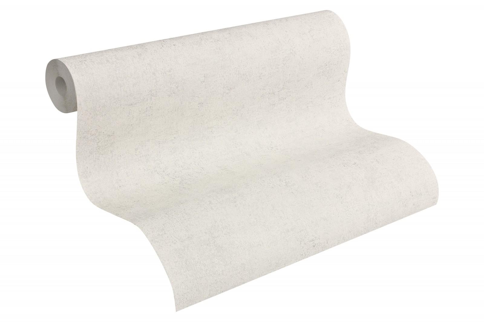 vliestapete wei grau uni livingwalls 96079 6. Black Bedroom Furniture Sets. Home Design Ideas
