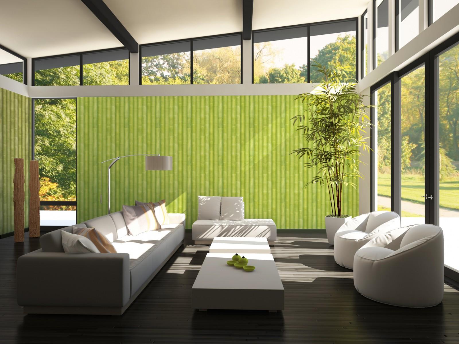 tapete as creation bambus gr n gr n 96184 3. Black Bedroom Furniture Sets. Home Design Ideas
