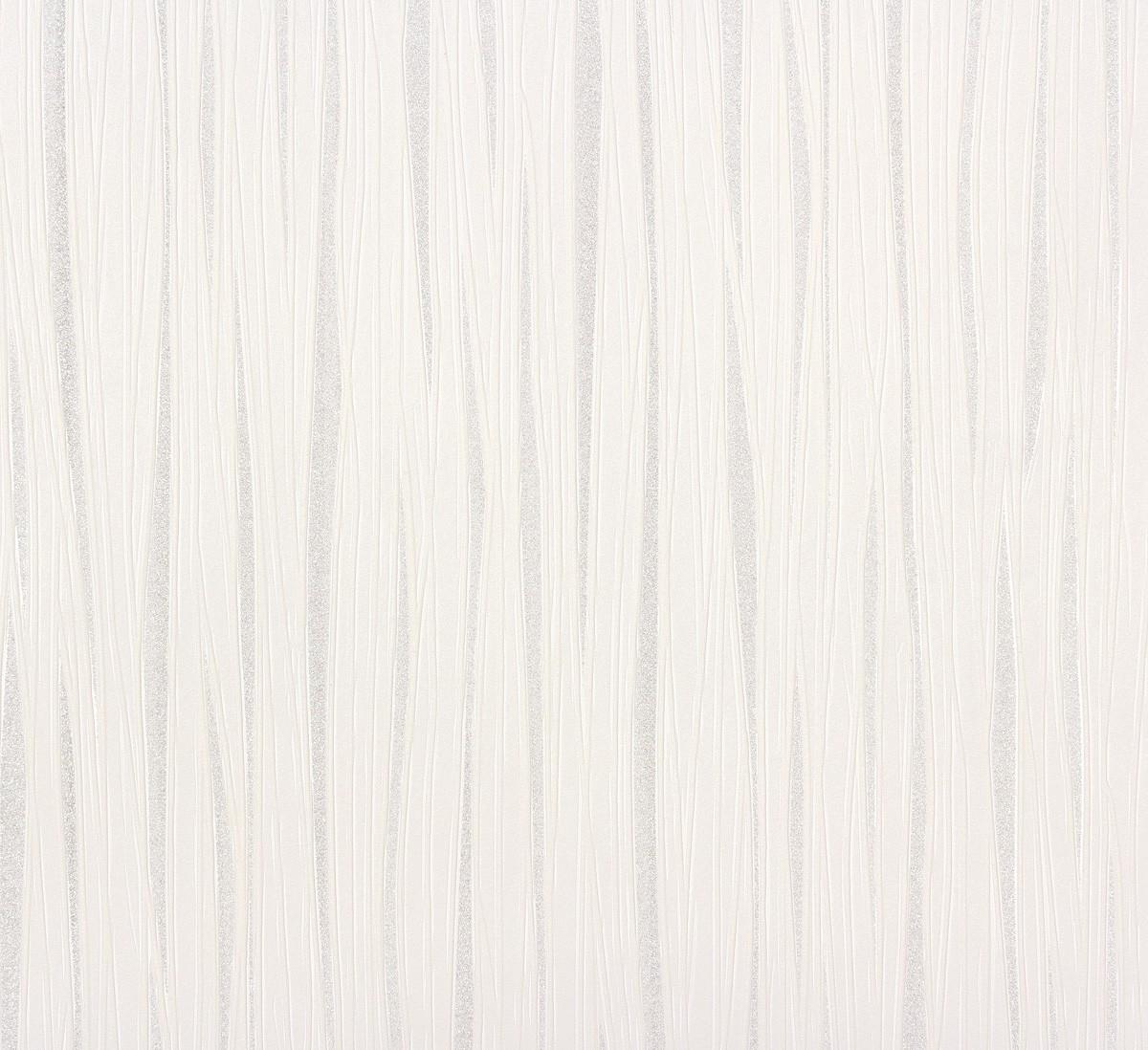 vliestapete streifen wei silber tapeten marburg wohnsinn. Black Bedroom Furniture Sets. Home Design Ideas