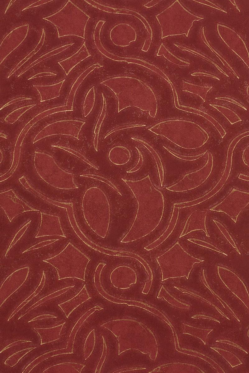 vliestapete design barock rot gold tapete dieter langer. Black Bedroom Furniture Sets. Home Design Ideas